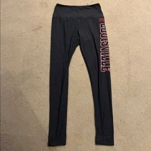 PERFECT COND BARELY WORN VS PINK UofL leggings